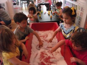 group-at-sensory-table